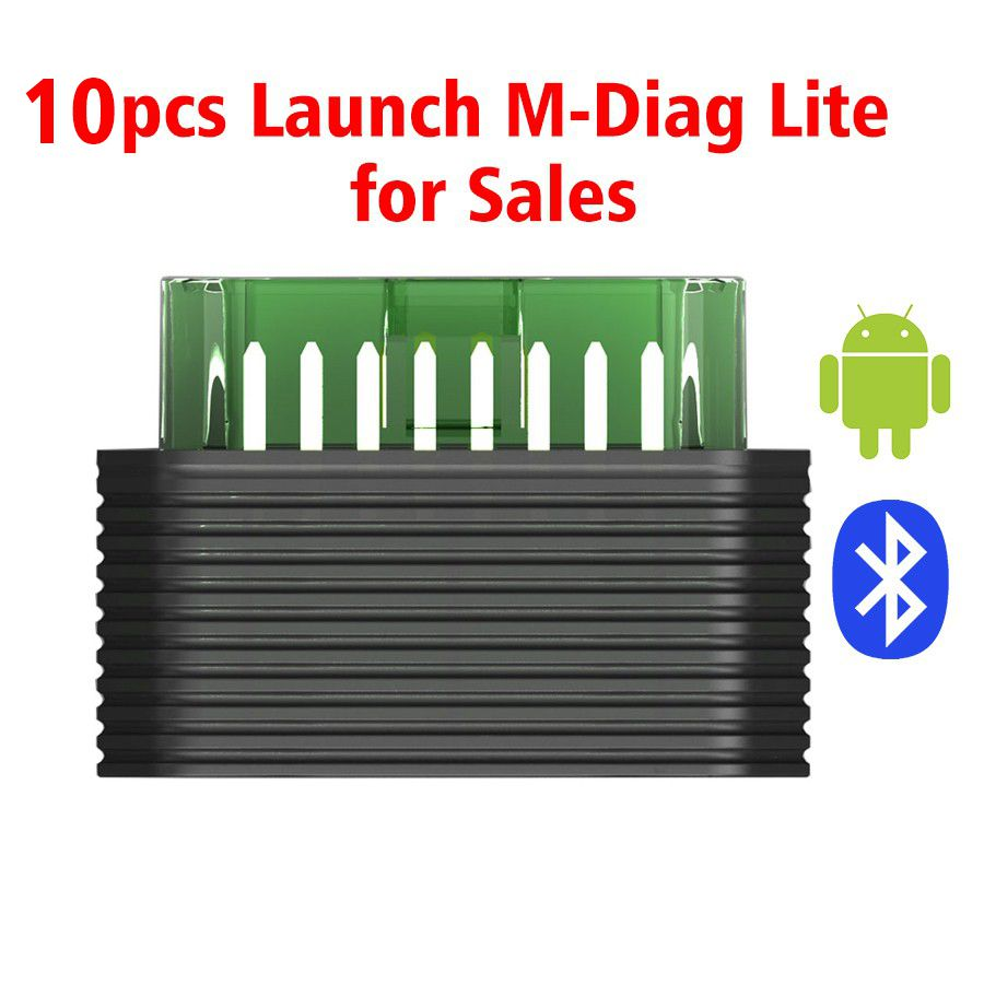 10pcs/lot Original Launch Golo M-Diag Lite EZdiag for IOS Android Built-in Bluetooth OBDII Diagnostic Tool with Special Functions Free Shipping by DHL