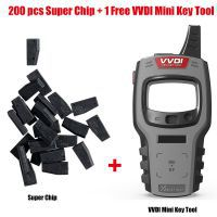 200pcs Xhorse VVDI Super Chips XT27 Get 1 Set Free VVDI Mini Key Tool