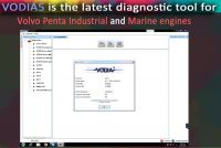 2016 VODIA5 Diagnostic Software for Volvo Penta Industrial and Marine engines