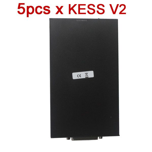 5pcs/lot  V2.10 KESS V2 OBD2 Manager Tuning Kit No Token Limitation Master Version