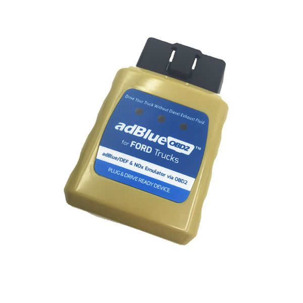 Ad-blue-OBD2 Emulator for FORD Trucks Plug and Drive Ready Device by OBD2