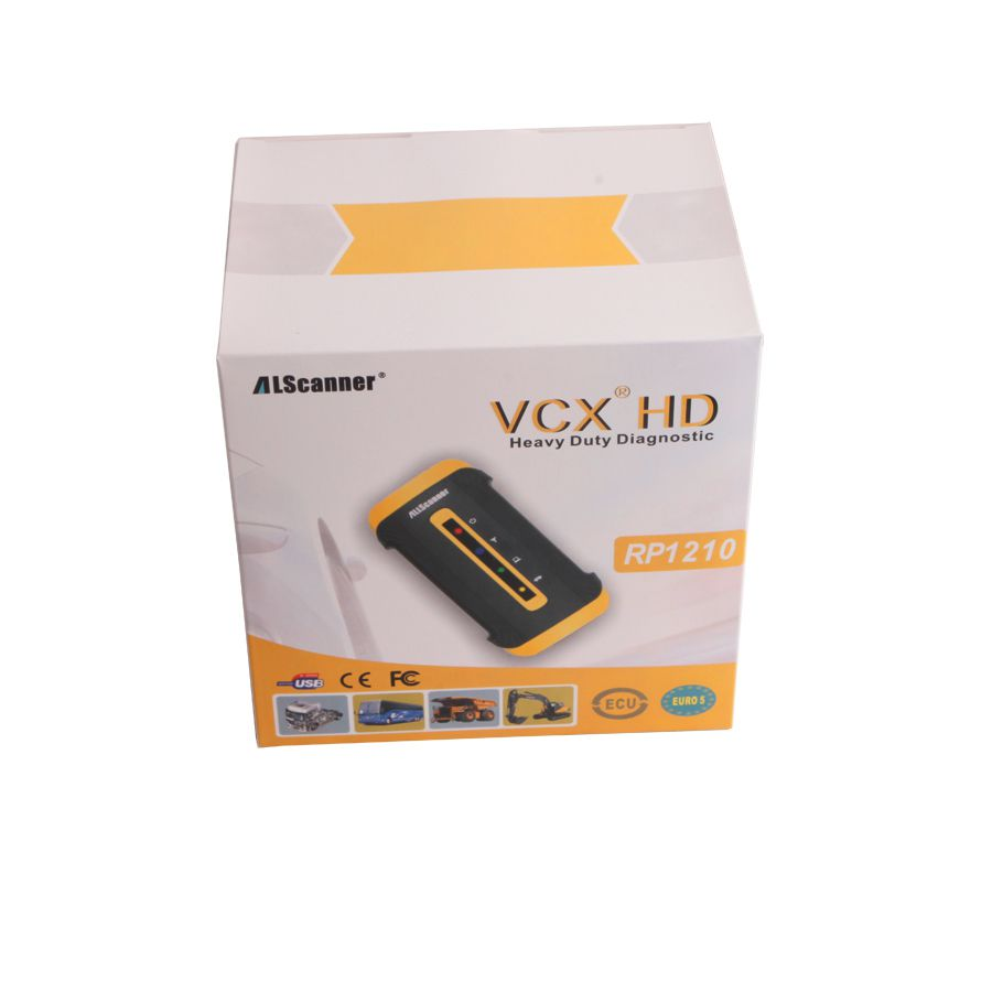 Allscanner VCX HD Truck Diagnostic System for Hino, Cummins, CAT, Nissan and Volvo