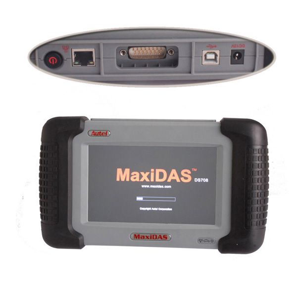 Autel MaxiDAS DS708 Wireless Scanner Supports English/Spanish/French Free Shipping