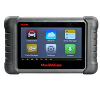 AUTEL MaxiDAS DS808 Kit  Android Tablet Diagnostic Tool Full Set Supports Online Update with Injector Coding/Key Coding
