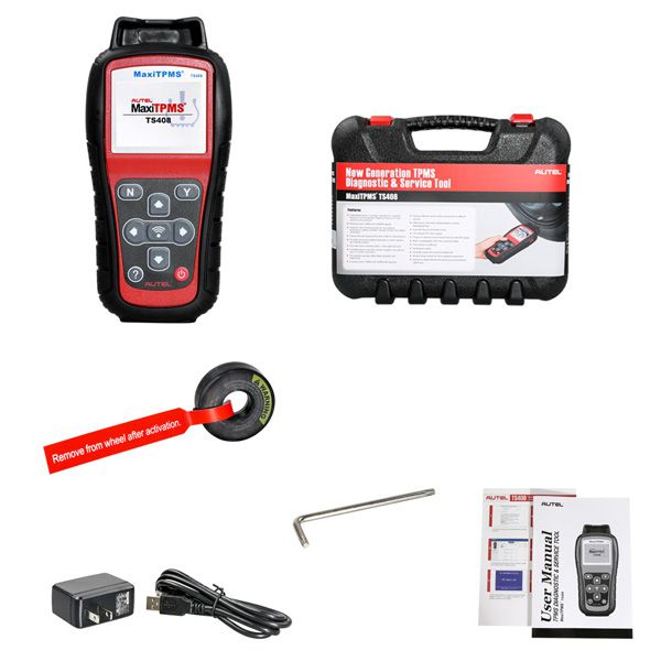 Original Autel MaxiTPMS TS408 TPMS Diagnostic and Service Tool Free Shipping