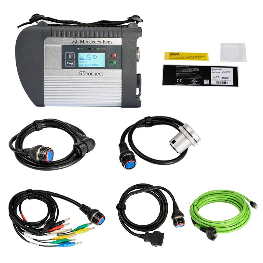 Benz eCOM DoIP Diagnosic Tool with 256G SSD and MB SD Connect C4 with 2020.3 Xentry Software HDD