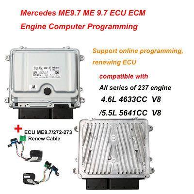 Mercedes Benz ME9 7 ME 9 7 ECU ECM Unit and Renew Cable Package