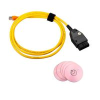 ENET (Ethernet to OBD) Interface Cable for BMW E-SYS ICOM Coding F-series