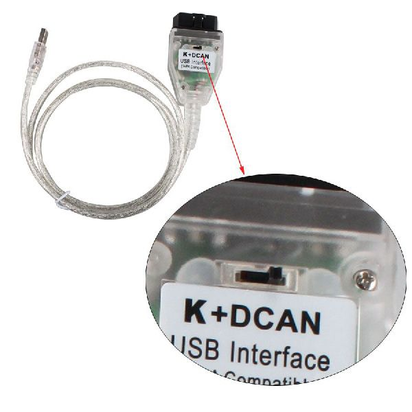 INPA K+DCAN for BMW With FT232RQ Chip with Switch Free Shipping
