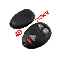 4 Buttons 315MHZ Remote Key for Buick Regal best selling