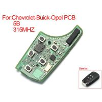 Remote Board 5 Buttons 315MHZ for Chevrolet Buick Opel