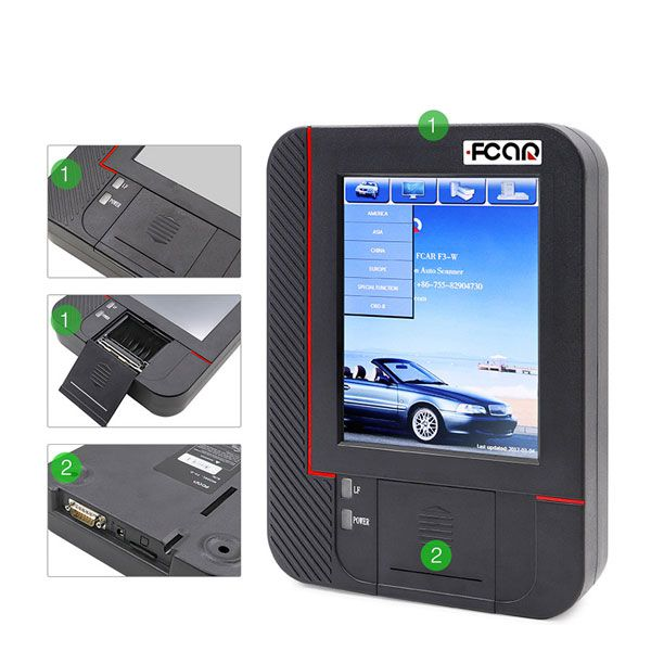 2017 Newest FCAR F3-M Gasoline Car Scanner OBD2 Diagnostic Tool Mini Version