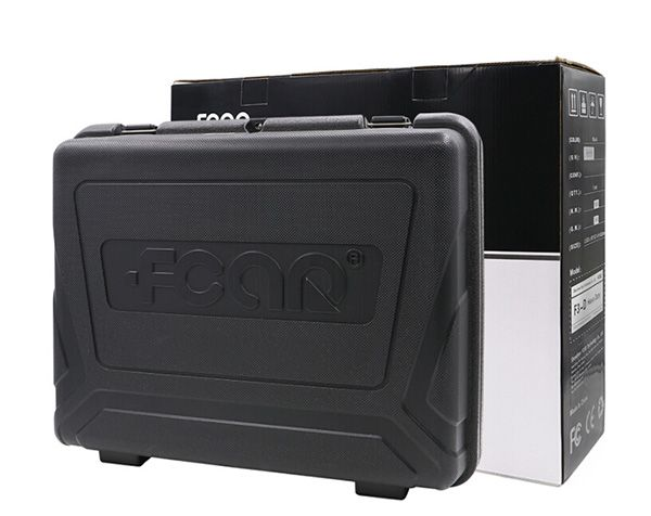 Fcar F3-G (F3-W + F3-D) Russian Version Fcar Scanner For Gasoline Cars and Heavy Duty Trucks Update Online