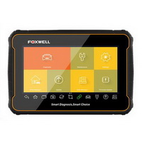 FOXWELL i70 Android Tablet Diagnostic Diagnostic Scan Tool with All System Diagnosis and 22 Services, Oil Reset, EPB, SAS, ABS Bleed DPF, BMS, Inject