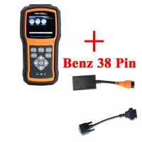 Foxwell NT520 Pro with Benz Software Preloaded and 38 PIN Round Connector