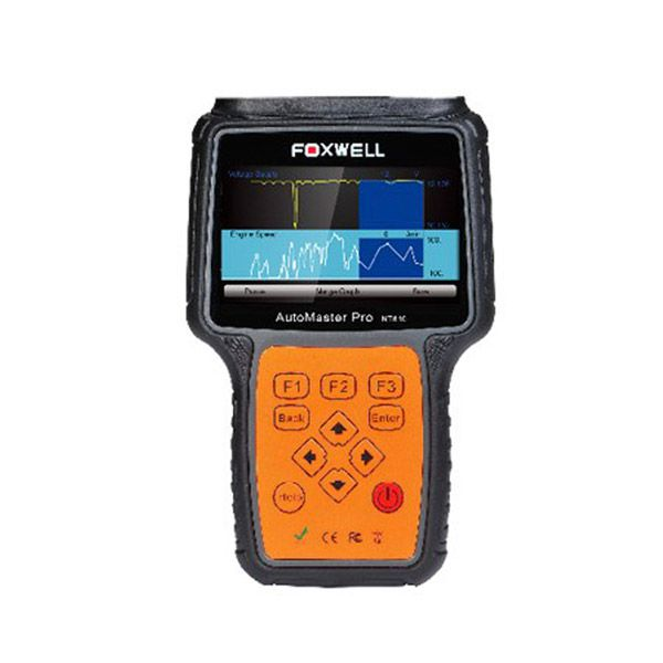 Foxwell NT613 AutoMaster Pro French & Italian-Makes 4-Systems Scanner