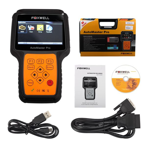 Foxwell NT620 AutoMaster Pro American Makes All System Scanner