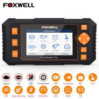 Foxwell NT634 OBD OBD2 Scanner Engine ABS SRS Transmission Scan Tool 11 Reset Functions OBD 2 Code Reader Car Diagnostic Tool