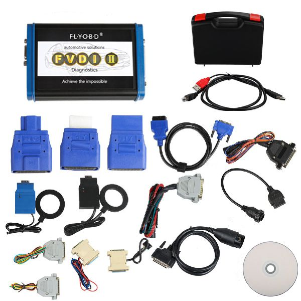 FVDI2 ABRITES Commander Diagnostic Tool with 18 Softwares