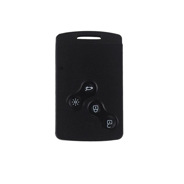 Half Smart Remote Key 4 Button 433mhz PCF7941(After Market) Sliver Logo for Renault