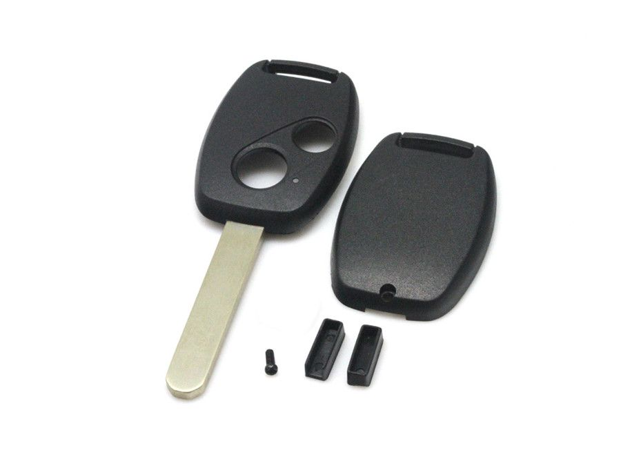 Remote key shell 2 button(without Logo and paper sticker) for Honda 5pcs/lot