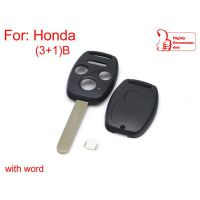 Remote key shell 3+1 button for Honda 5psc/lot
