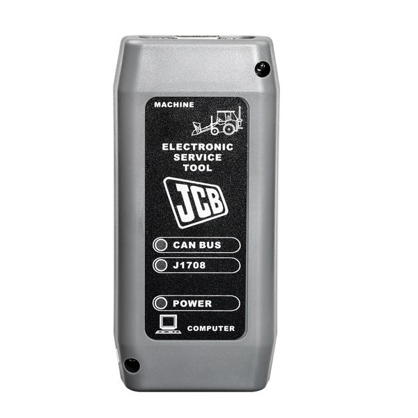 V8 1 0 Electronic Service Tool Diagnostic Interface Heavy Duty Scanner for  JCB SM4 1 45 3
