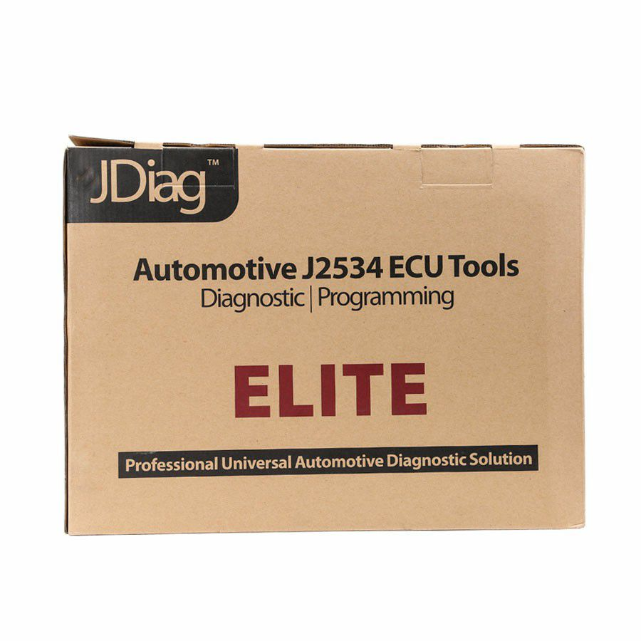 JDiag Elite II Pro J2534 Device with Full Adapters Diagnostic and Programming 2 in 1 with DELL E6430 PC 4G RAM I5 CPU 160GB SSD