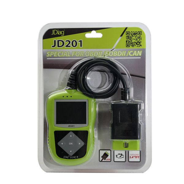 2017 JDiag JD201 Code Reader for OBDII/EOBD/CAN