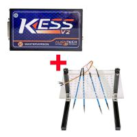 Kess V2 V5.017 Plus LED BDM Frame with 4 Probes Mesh