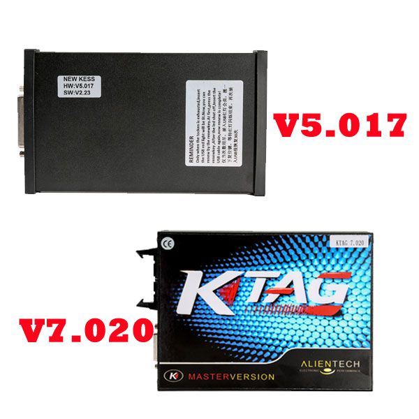 Best Offer Kess V2 V5.017 Plus Ktag V7.020 Unlimited Tokens ECU Programmer with Free ECM TITANIUM V1.61 Software