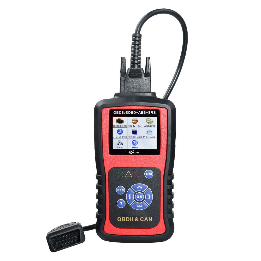 KZYEE KC501 OBD+ABS+SRS CAN SCAN TOOL