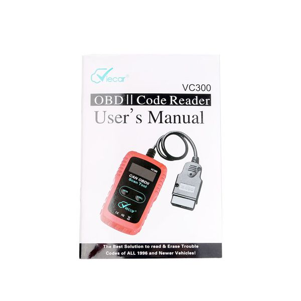 Latest VIECAR CY300(VC300) ELM327 OBD2 Diagnostic Scanner Supports SAE J1850 Protocol