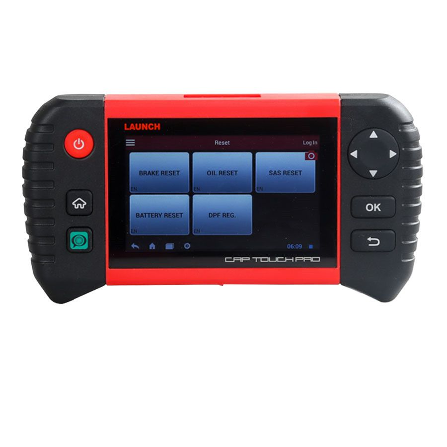 Launch Creader CRP Touch Pro Android Touch Screen Full System Diagnostic Service Reset Tool