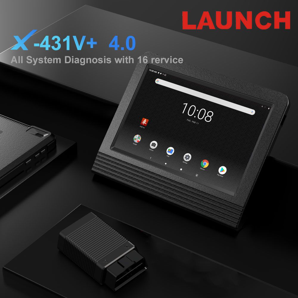 X431 PRO3 Launch X431 V+ Wifi/Bluetooth 10.1inch Tablet Global Version Two Years Free Update Online
