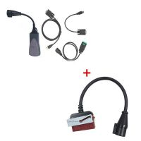 Best Price Diagnostic Tool for Lexia-3 Citroen/Peugeot With 30 Pin Cable for Lexia-3 (Round Interface)