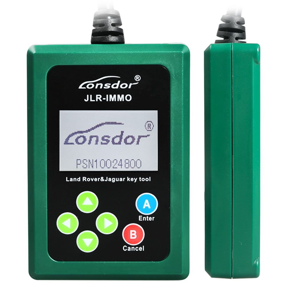 Lonsdor JLR-IMMO OBD Key Programmer for Jaguar LandRover JLR Doctor Add KVM and BCM Free Update Online