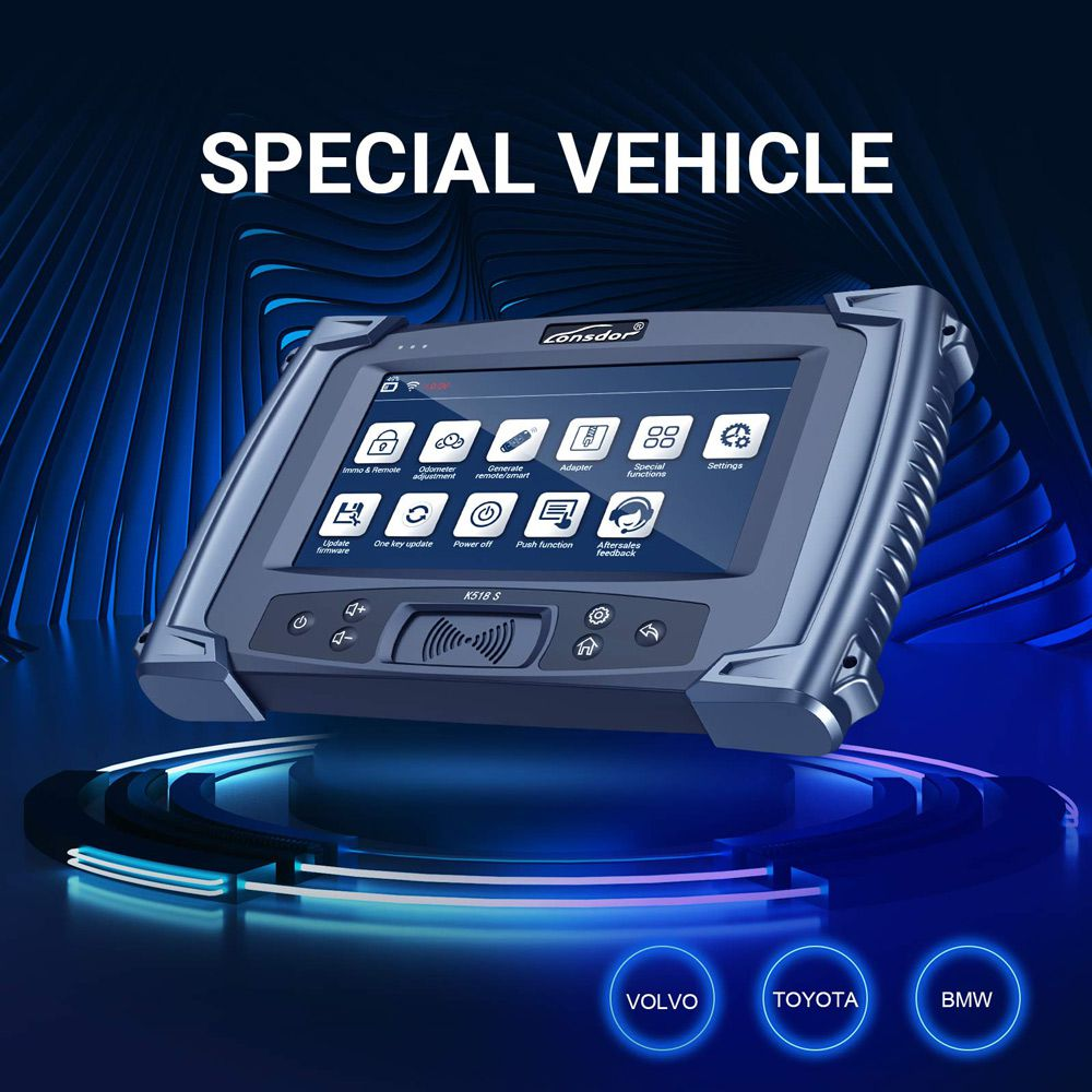 LONSDOR K518S Key Programmer Basic Version No Token Limitation Support All Makes Update Version of SKP1000