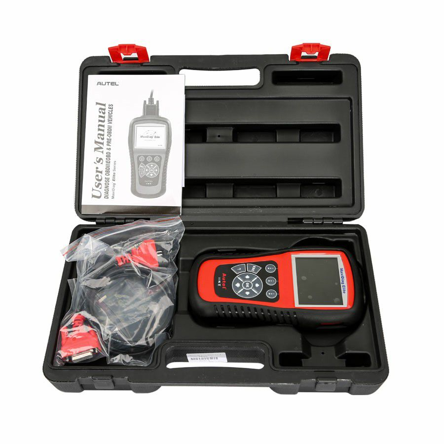 MaxiDiag Elite MD802 For 4 System With Datastream Model Engine Transmission ABS and Airbag Code Scanner