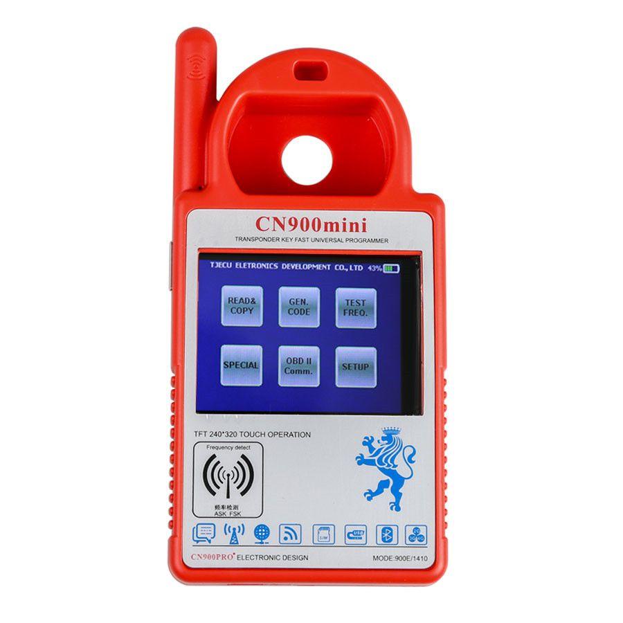 Smart CN900 Mini CN900 Transponder Key Programmer Software V5 18 Firmware  V1 34 2 19