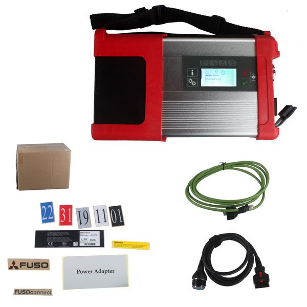 Mitsubishi Fuso SD Connect C5 XENTRY Truck Diagnostic Kit (2012-2016) with WiFi Wireless without HDD
