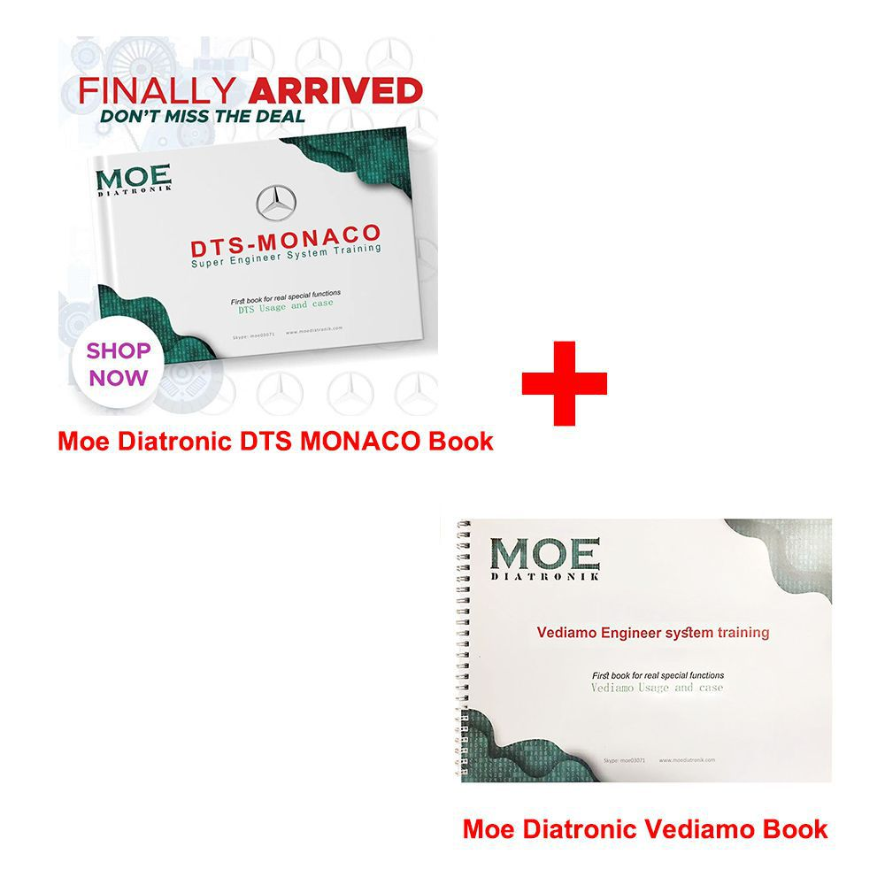 Moe Diatronic DTS MONACO and Vediamo Super Engineer System Training Book