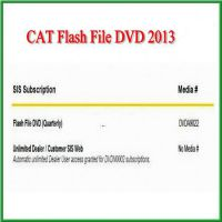 New Flash File DVD 2013 for CAT Easy to Operate