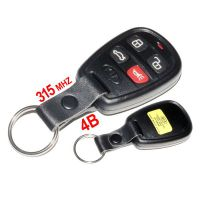 Newest Remote 4 Buttons 315MHZ Remote Key for  Kia Optima with free shipping