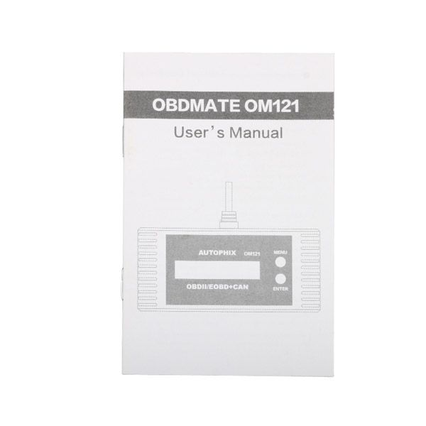 OM121 OBD2 EOBD CAN Engine Code Reader
