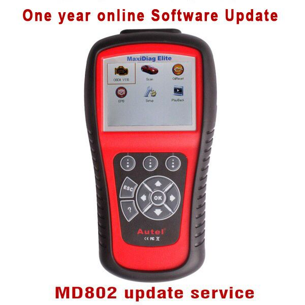 One Year Software Online Update Service for MD802 4 Systems/Full Systems
