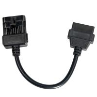10Pin to OBD OBD2 16PIN Adapter For Opel