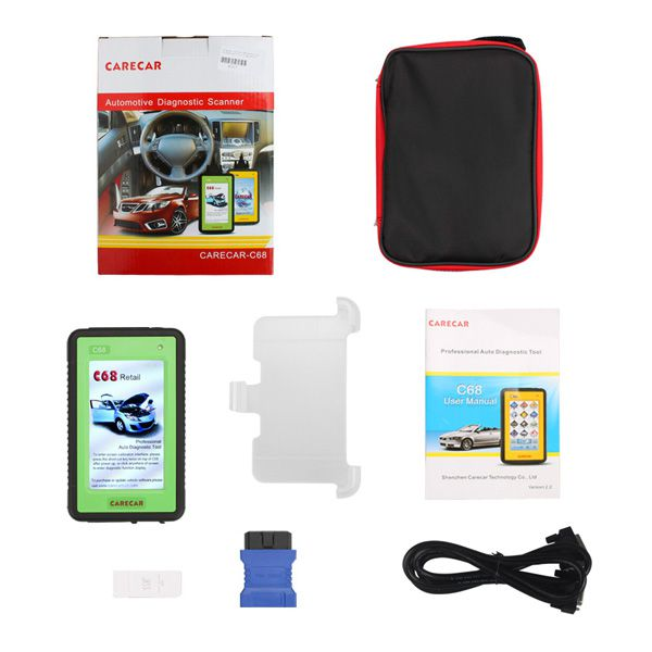 Original CareCar C68 Retail DIY Professional Auto Diagnostic Tool  Buy SP197 Instead