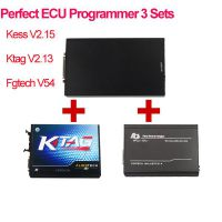 Latest Kess V2.32 Plus Ktag V2.13 Plus Fgtech Galletto V54 Perfect ECU Programmer 3 Sets