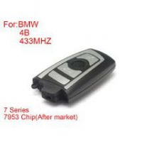 Remote Key 4 Buttons 433MHZ 7953 Chips Silver Side for BMW CAS4 F Platform 7Series